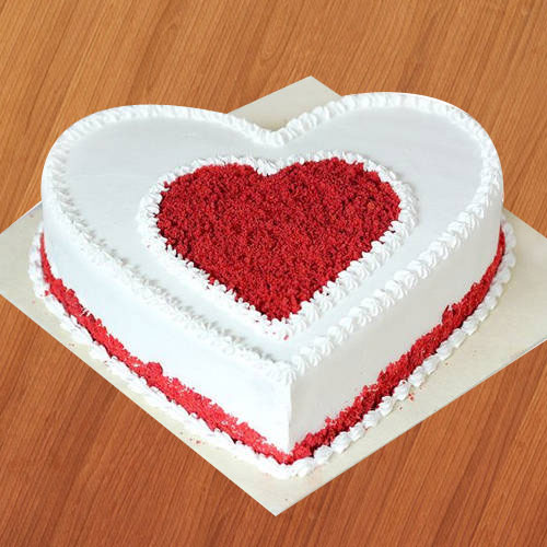 Order Online Heart Shape Love Cake