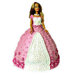 Charming Barbie Cake