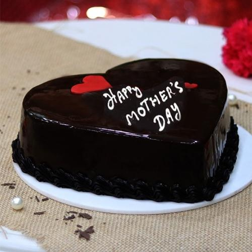 ChocHeart Shaped olate Cake 2.2lb. (Mother's Day Special)