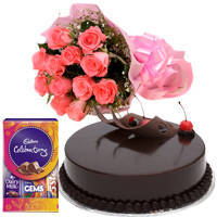 Pamper-of-Love Blossom and Dessert Medley