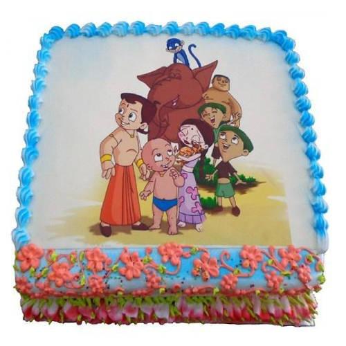 Yummy Utopia 2.5 Kg Chota Bheem Cake