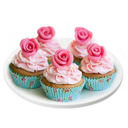 Sugary Peep Cup Cake Assemblage