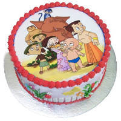 Wonder-of-Appetite Chota Bheem Cake