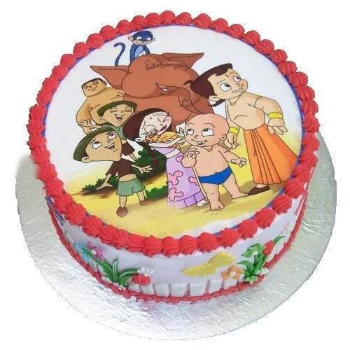 Pleasurable Chota Bheem Cake