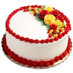 Creamy Textured 1 Lb Vanilla Cake