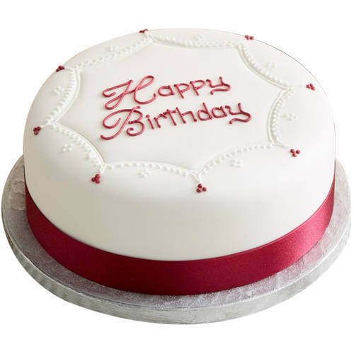 Send Birthday Vanilla Cake Online