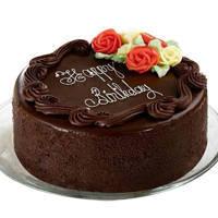 Joyful Treat Dark Chocolate Cake
