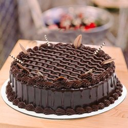 Appetizing 1 Lb Chocolate Cake from 3/4 Star Bakery