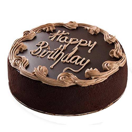 Appetizing 1 Lb Fresh Chocolate Cake from 3/4 Star Bakery