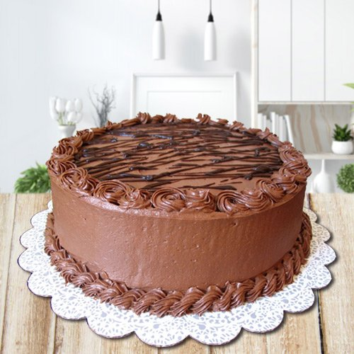 Zesty 2.2 Lbs Chocolate Cake from 3/4 Star Bakery