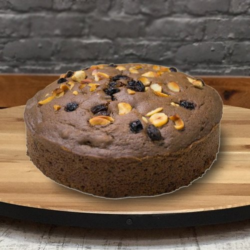 Full-Flavored 2.2 Lbs Fresh Baked Eggless Cake from 3/4 Star Bakery