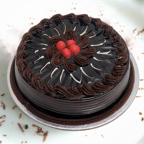 Sweet Gesture 1 Lb Chocolate Truffle Cake from 3/4 Star Bakery