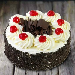 Mouth-Watering 2.2 Lb Black Forest Cake from 3/4 Star Bakery