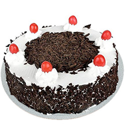Birthday Appetizing Black Forest Cake