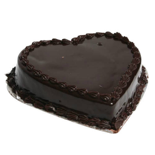 Buy Heart-Shape Chocolate Truffle Cake