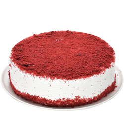 Buy Red Velvet Eggless Cake