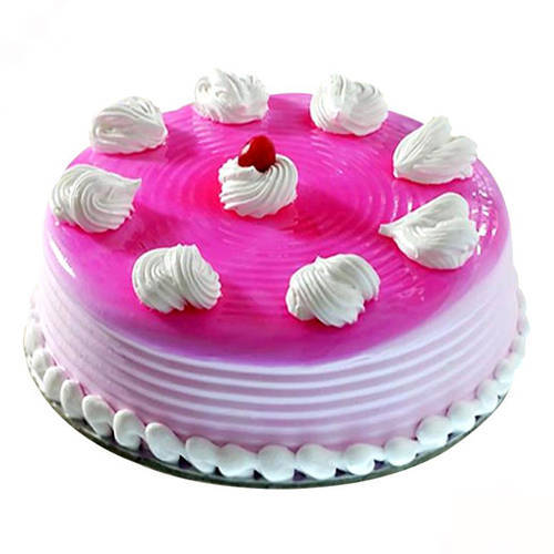 Deliver Online Strawberry Eggless Cake