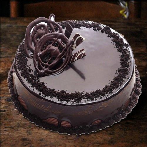 Chocolate Truffle Eggless Cake