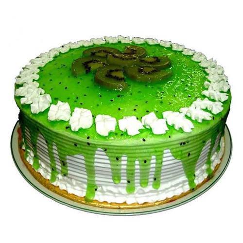 Order Eggless Kiwi Cake Online