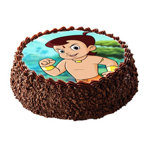 Order Online Chota Bheem Photo Cake for Kids