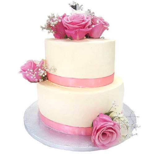 Buy 2 Tier Wedding Cake Online