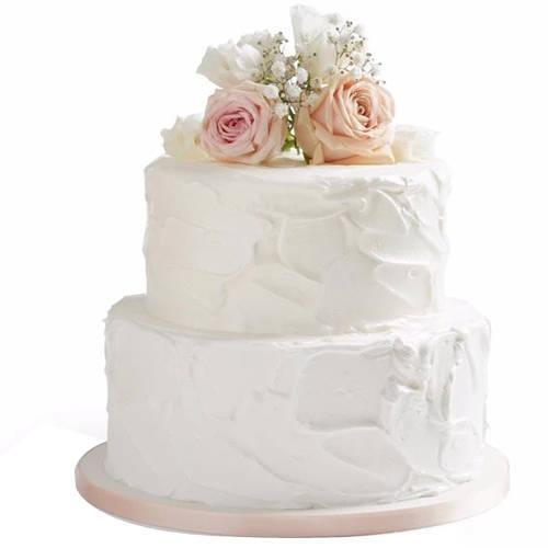 Gift Online 2 Tier Wedding Cake