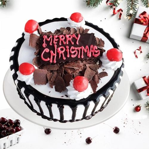 Surprising X-mas Treat of Black Forest Cake