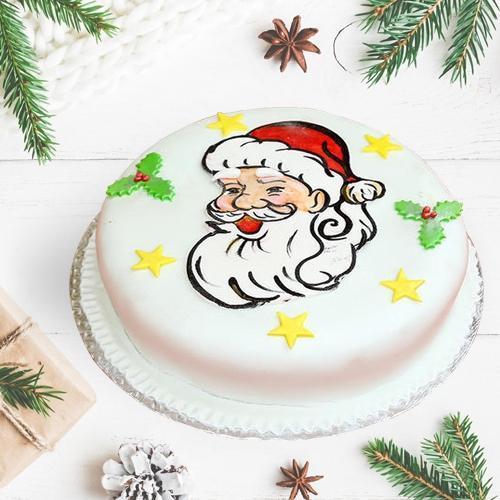 Scrumptious Vanilla Cake for X-Mas Celebration