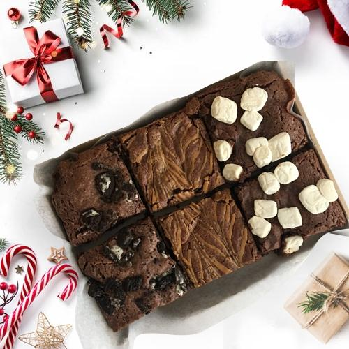 Highly-Enjoyable Brownie Treat for Xmas