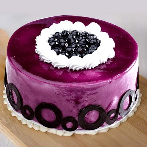 One-of-a-Kind Blueberry Flavor Cake