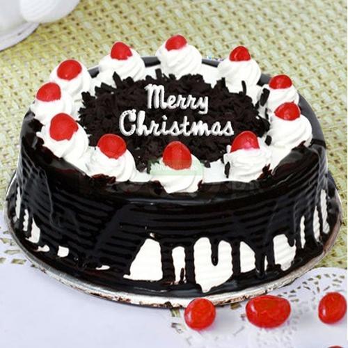 Luscious Black Forest Cake from 5 Star Bakery/Taj Hotel
