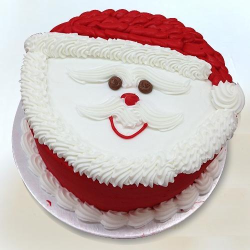 Marvelous Santa Claus Fondant Theme Cake