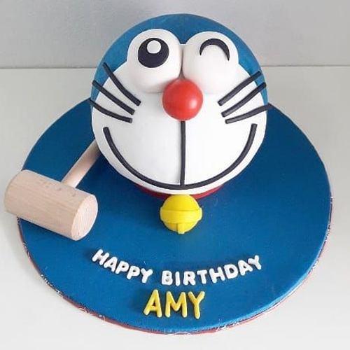 Lavish kids Special Doremon Smash Cake with Hammer