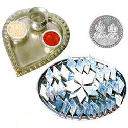 Haldiram Kaju Katli N Thali , Free Coin