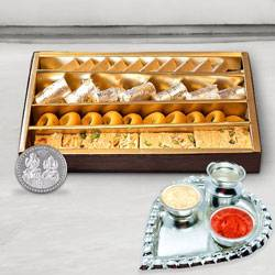 Haldiram Assorted Sweets N Thali , Free Coin