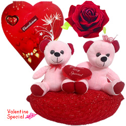 Adorable Valentines Day Delightful Combo Gift