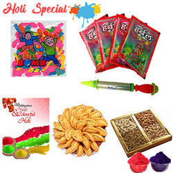 Vibrant Happy Holi Gift Hamper