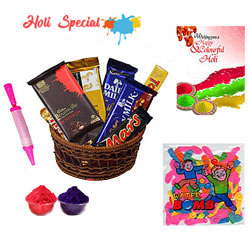 Colourful Combo of Holi Gifts Hamper