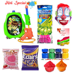 Extraordinary Kid Ben 10 Holi Hamper