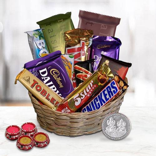 Classic Assortment of Chocolate Gifts Festive Hamper