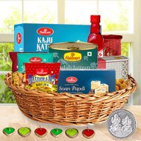 Basket for Celebration Diwali Hamper