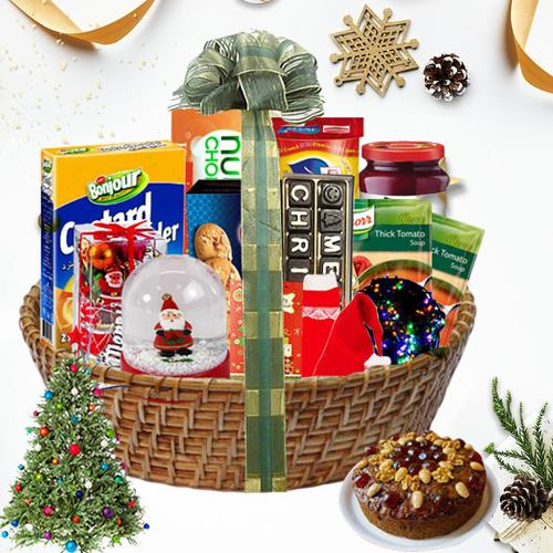 Surprising Christmas Traditional Hamper<br>