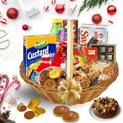 Lets Celebrate Delicious Christmas Hamper<br>