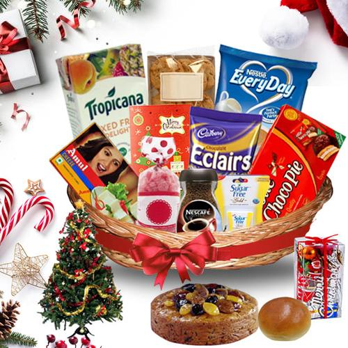 Exciting Christmas Treasure Basket