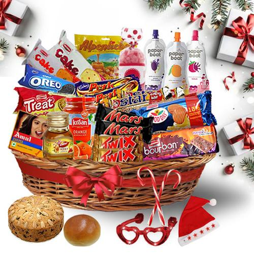 Delightful Christmas Treat Basket<br>