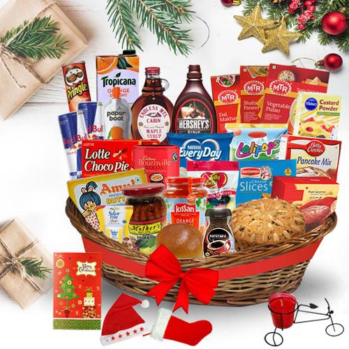 Sensational Christmas Brunch Basket<br>