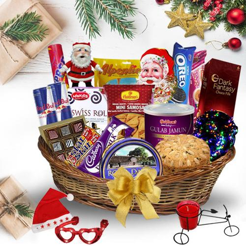 Exotic Awaiting Christmas Gift Hamper<br>