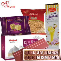 Tasteful Tradition of Haldirams Pack