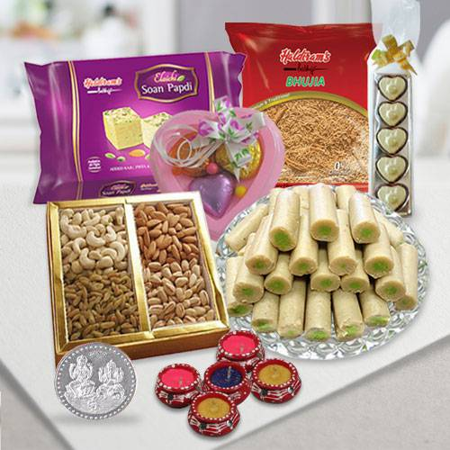 Instant Diwali Celebration Gift Basket