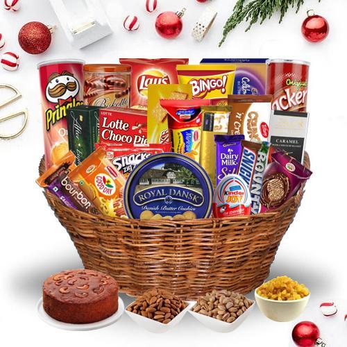 Sumptuous Tempting Gift Basket